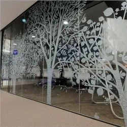 Laminated Toughened Glass, Thickness: 4 To 6 Mm, for Home, Office