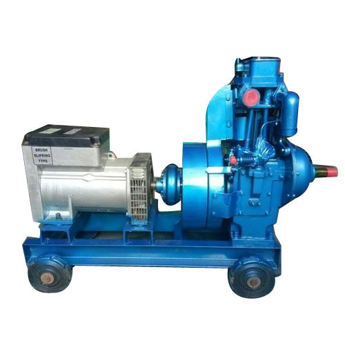 5 To12 Single Phase Diesel Engine Generator Rs 42500 Piece Deepak Engineering Stores Id 18895332133