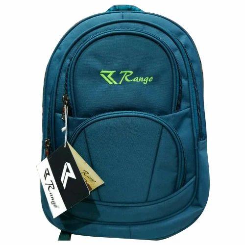 3eec56e58f05 Polyester Blue Boys College Bag