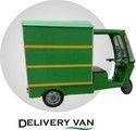 GEM Electric Delivery Rickshaw