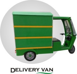 Electric Delivery Rickshaw