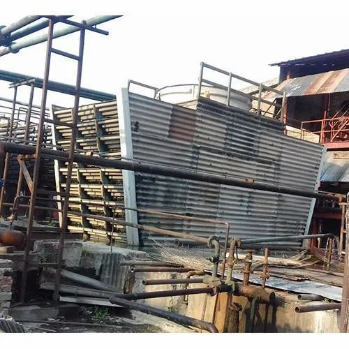 Wooden Cross Flow Cooling Tower, 415v, 5 Hp