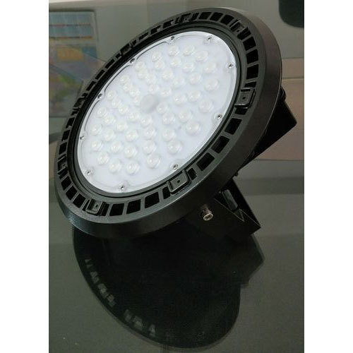 Pure White 100W UFO Fin High Bay LED Light, IP Rating: IP44
