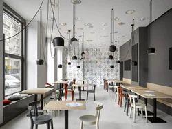 Best Cafe Interior Design Modern Cafe Interior Design Professionals Contractors Designer Decorator In Gurgaon ग डग व Haryana
