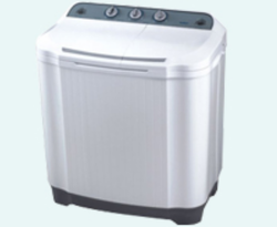 White Semi Automatic Washing Machine
