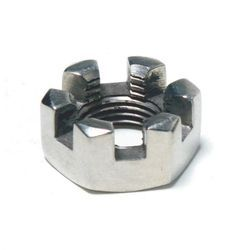 Stainless Steel Hex Castle Polished Nuts, Packaging Type: Packet