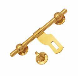 Brass Door Aldrop, Chrome, Aldrop Size: 8