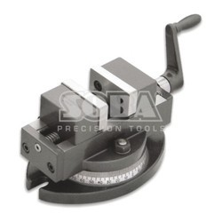 Precision Self Centering Vise With Swivel Base 4