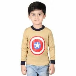 Forever Young Casual Wear Kids Cotton T Shirt