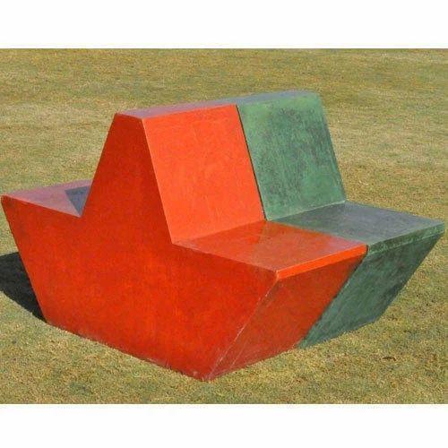 Pigmented Glass Fibre Reinforced Concrete Garden Seating