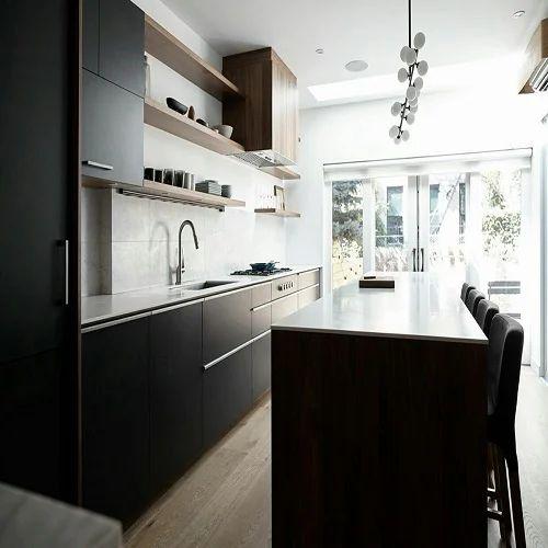 L Wooden Modular Kitchen Manufacturer: Manufacturer Of Modular Kitchen & Wooden Bed By Hicks Opus