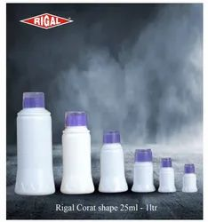 RIGAL White Corat Shape Bottles