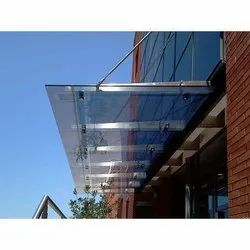 Exterior Glass Canopies