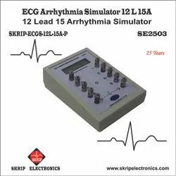 ECG Arrhythmias Simulator LCD Display 12L-15A-P