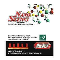 Table Tennis Rubber GKI Nano Sting