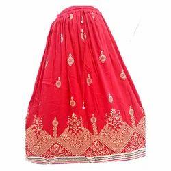 Rayon Crepe Maxi Skirts