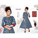 Casual Wear Cotton Kurti