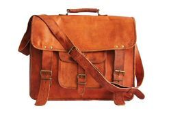 Leather Messenger Bag, Laptop Bag, Briefcase, Pure Leather Bag, Handmade Leather Bag