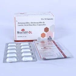 Amoxycillin Dicloxacillin and Lactic Acid Bacillus Capsules