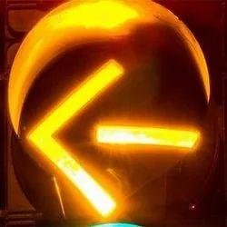 Yellow LED Traffic Signal Arrow