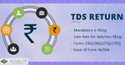 TDS Return Filling QTR per form