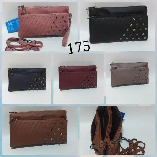 PU Leather Sling Bag for Girls and Ladies
