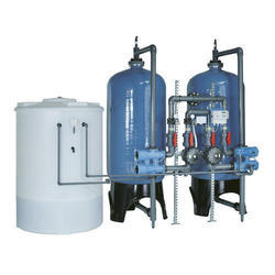 Stainless Steel Industrial Softener Plant