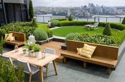 Residential Terrace Garden Designing