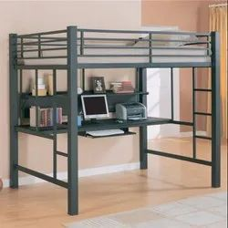 Grey Bunk Bed, Size: 900x1800x1800mm, for Hostel