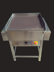 Stainless Steel Silver Electric Dosa Making Machine for Restaurant, Hotel