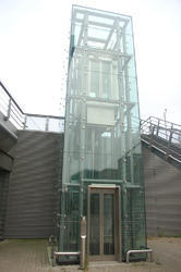 Ornet GE011 Glass Elevator, Max Persons: 13 Persons, Without Machine Room