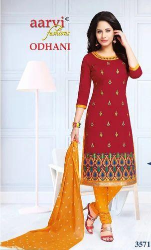 92d722af38 Anarkali Suits - Cotton Material AARVI ODHNI VOL-2 Wholesaler from Surat