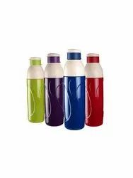 Cello Puro Insulated Plastic Water Bottle Set, 900ml, Set Of 4, Assorted