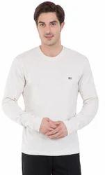 Jockey Cream Melange Long Sleeved T-Shirt