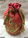 Embroidered Polti Bag
