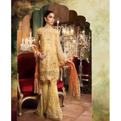 74473a255bb Large And XL Party Wear Pakistani Palazzo Suit