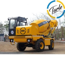 Self Loading Concrete Mixer TCE 4000