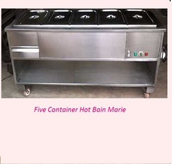 Hot Five Container Bain Marie