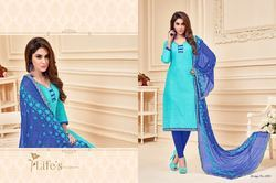 Unstitched Stylish Designer Fancy Salwar Suit