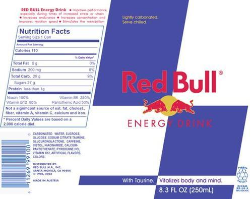 Redbul Energy Drinks