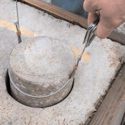 Concrete Core Failure Testing