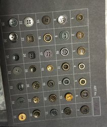 Branded Metal Brass Button for denim shirts