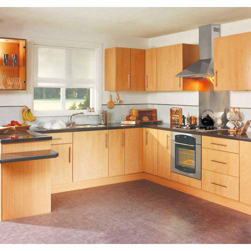 Modern Italian Modular Kitchens Rs 1100 Square Feet: MDF Modular Kitchen At Rs 1250 /square Feet