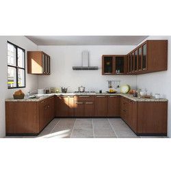 U Shaped Designer Modular Kitchen
