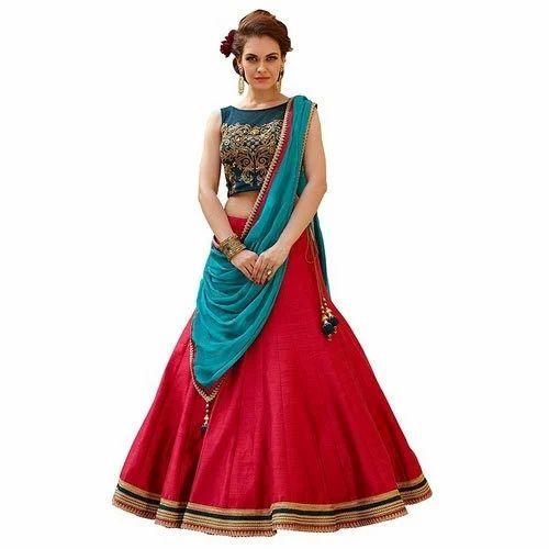 1f8b8f806d Party Wear Semi-Stitched Fancy Lehenga Choli, Rs 699 /piece | ID ...