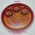 Pooja Thali Stonework Small