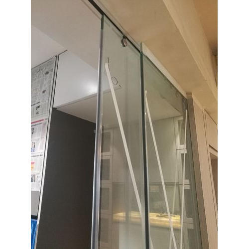 Transparent Office Sliding Toughened Glass