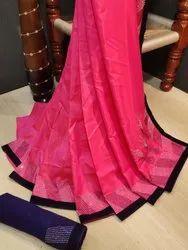 Sana Silk Saree with Diamond Work