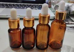 30 Ml Amber Essential Oil Dropper Glass Bottle