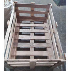 Rectangular Handmade Wooden Crate